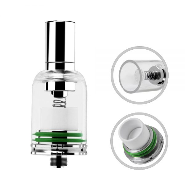 Upgraded Vacuum Quartz Coil Mr. Bald ii subherb wax vaporizer