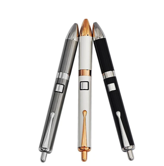 Luxury pen design wax vaporizer with adjustable voltage